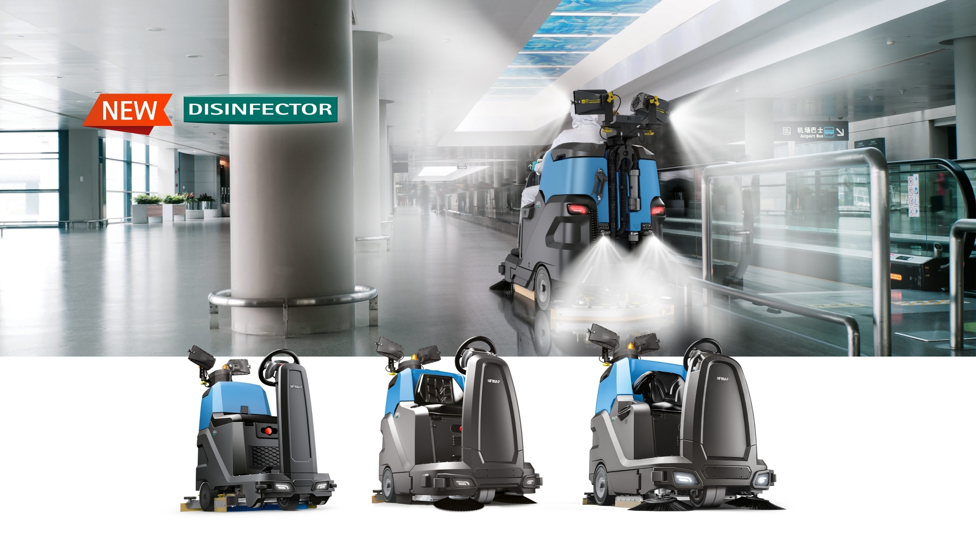PERFORMANCE scrubbing machines
